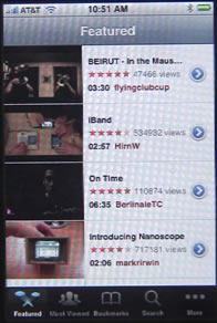 iPhone You Tube Featured