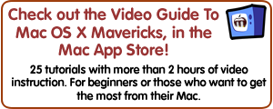Video Guide to Mavericks