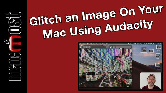 Glitch an Image On Your Mac Using Audacity