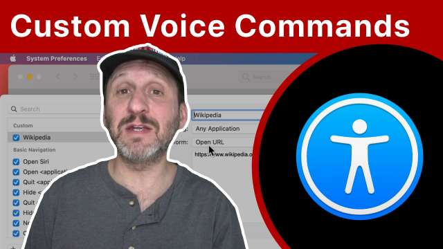Creating Custom Voice Control Commands For Your Mac