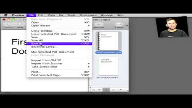 MacMost Now 375: Merging PDF Documents in Preview