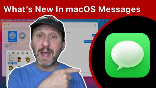 What's New In the macOS Messages App In Big Sur