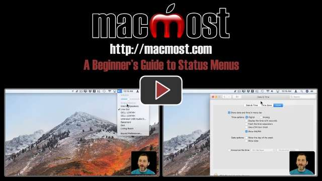 A Beginner's Guide to Status Menus