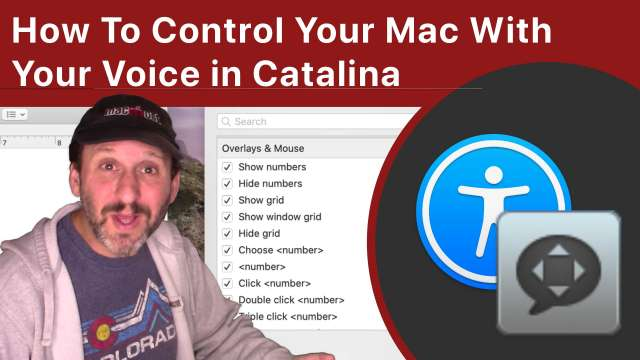 How To Control Your Mac With Your Voice in macOS Catalina