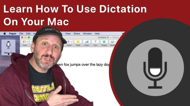 Learn How To Use Dictation On Your Mac