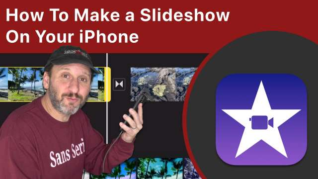 How To Make and Export a Slideshow On Your iPhone