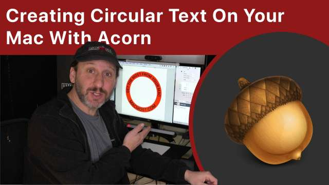 Creating Circular Text On Your Mac With Acorn
