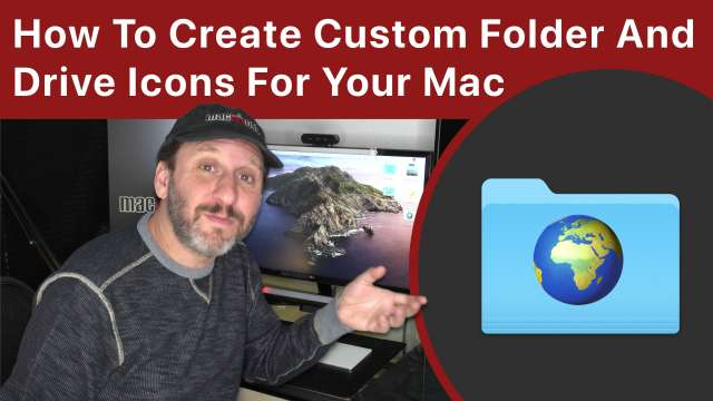 How To Create Custom Folder And Drive Icons For Your Mac