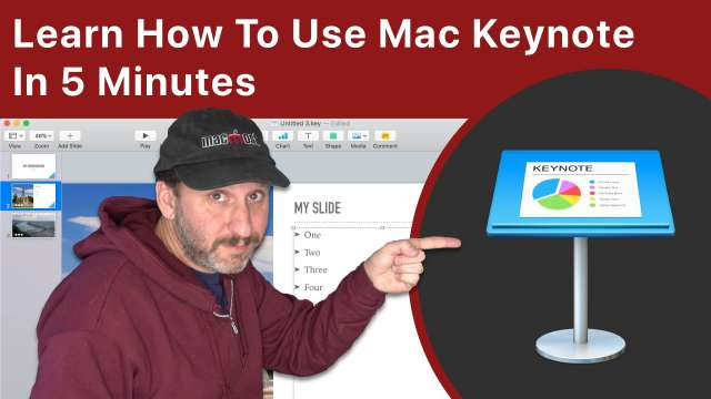 Learn How To Use Mac Keynote In 5 Minutes