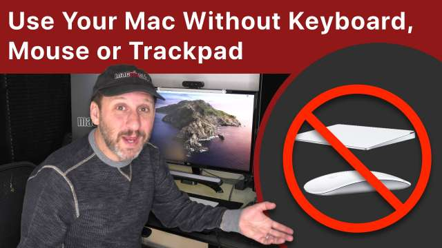 How To Use Your Mac If Your Keyboard, Mouse or Trackpad Isn't Working