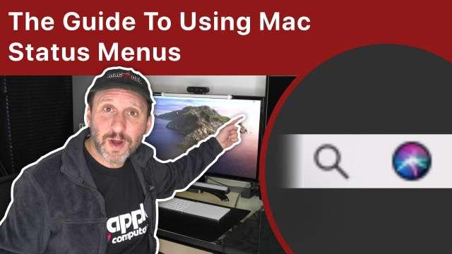 The Guide To Using Mac Status Menu Icons