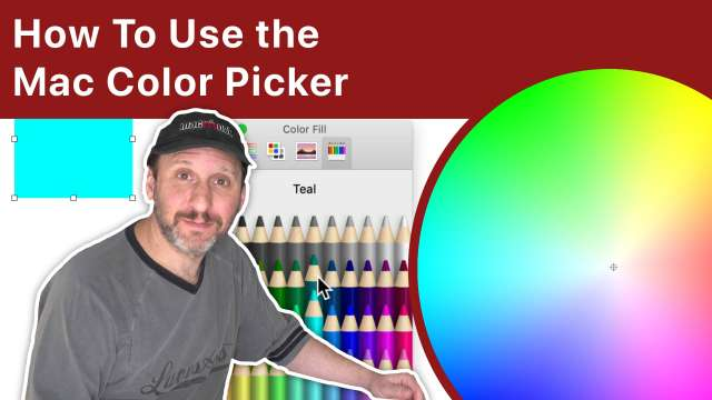 How To Use the Mac Color Picker