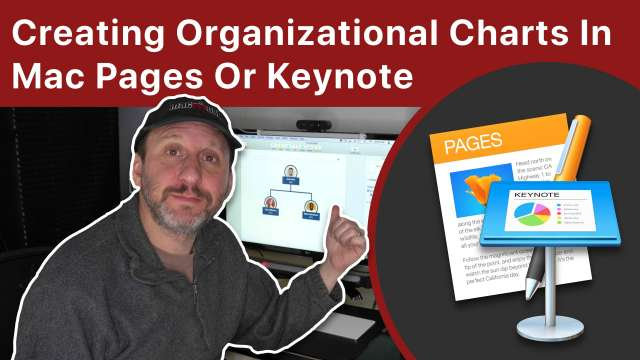 Creating Organizational Charts In Mac Pages Or Keynote