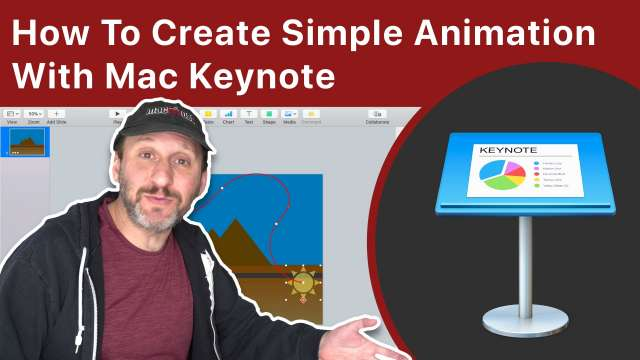 How To Create Simple Animation With Mac Keynote