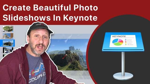 Create Beautiful Photo Slideshows In Mac Keynote