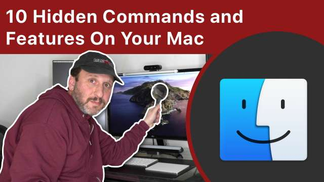 10 Hidden Commands and Features On Your Mac