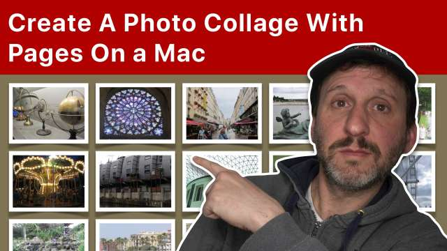 Create A Photo Collage With Pages On a Mac