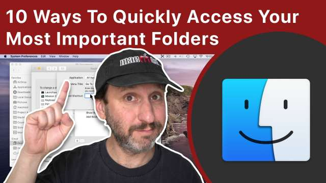 10 Ways To Quickly Access Your Most Important Folders On a Mac