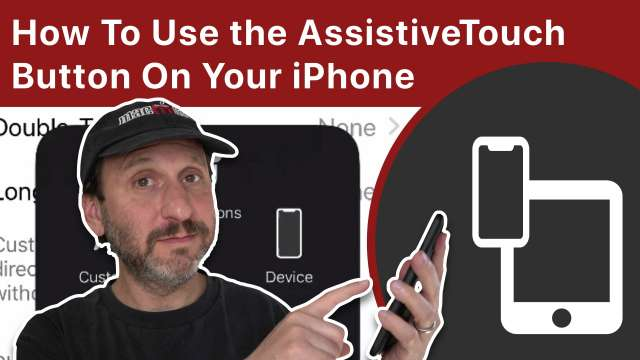 How To Use the AssistiveTouch Button On Your iPhone or iPad
