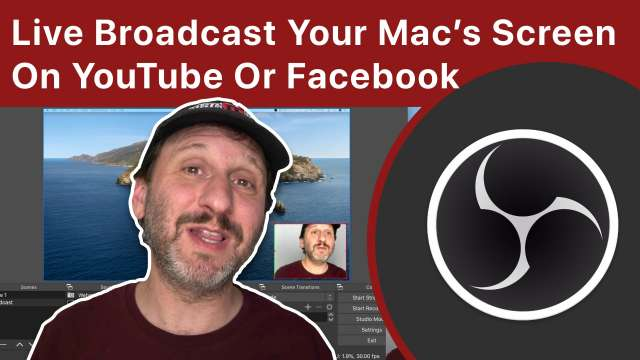 How To Do a Live Broadcast Of Your Mac's Screen Over YouTube Or Facebook Using OBS Studio