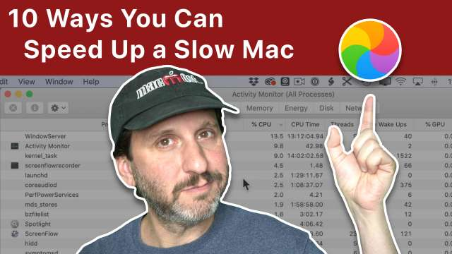 10 Ways To Speed Up a Slow Mac
