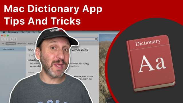 Mac Dictionary App Tips And Tricks