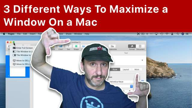 3 Different Ways To Maximize a Window On a Mac
