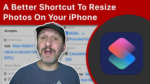 A Better Shortcut To Resize Photos On Your iPhone