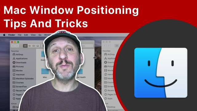 Mac Window Positioning Tips And Tricks