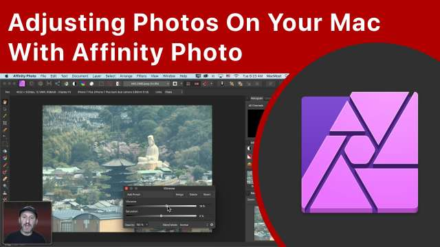 Adjusting Photos On Your Mac With Affinity Photo