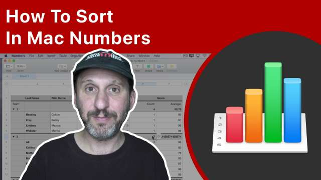 How To Sort In Mac Numbers