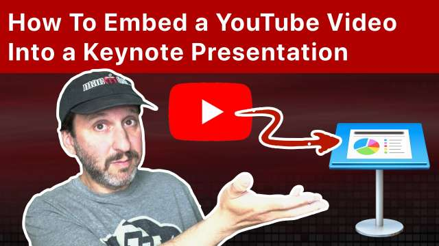 How To Embed a YouTube Video Into a Keynote Presentation