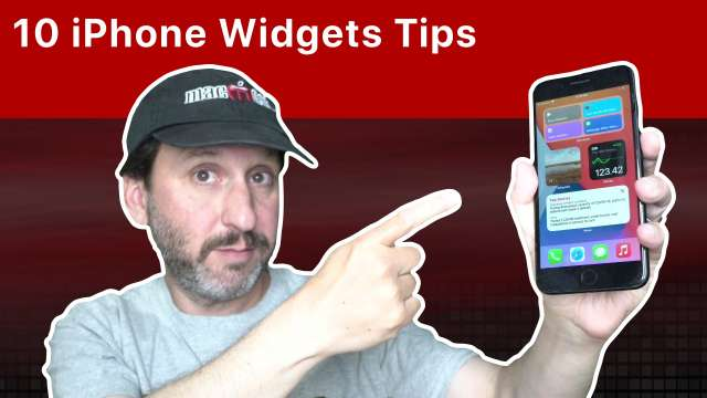 10 Tips For Using iPhone Home Screen Widgets