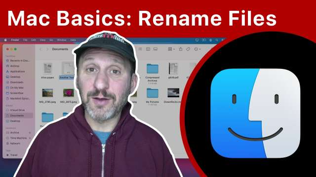 Mac Basics: How To Rename Files