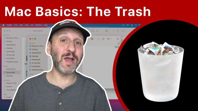 Mac Basics: Using the Trash To Delete Files