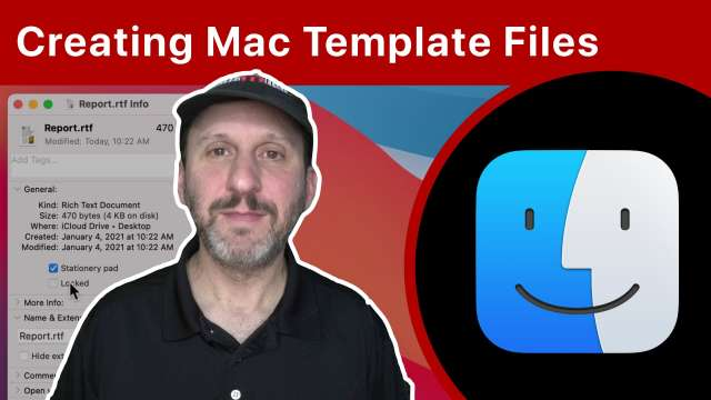 Creating Template Files For Any App On Your Mac