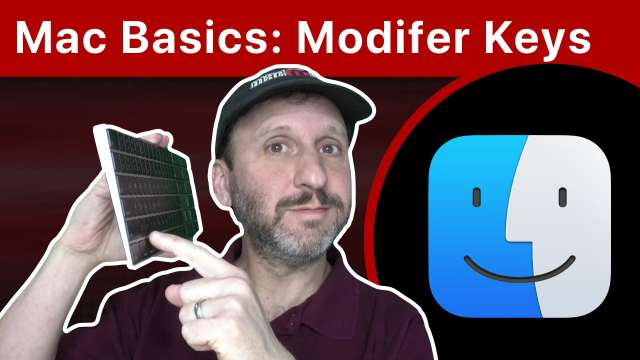 Mac Basics: Using Modifier Keys