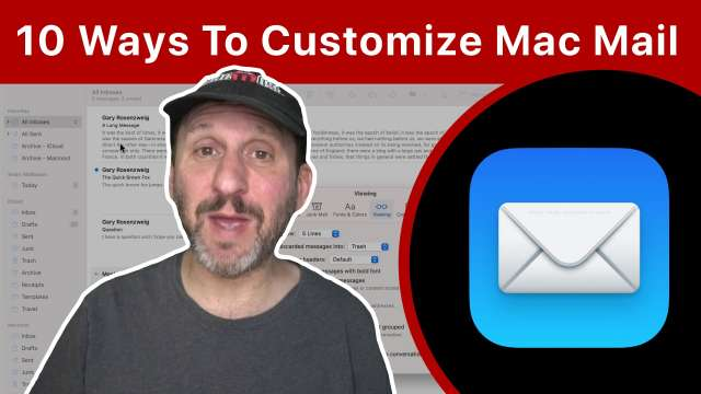 10 Ways To Customize Mac Mail