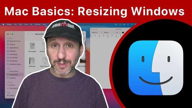 Mac Basics: Moving And Resizing Windows