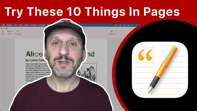 10 Things You Didn't Know You Could Do With Mac Pages