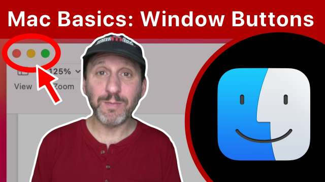 Mac Basics: The Red, Yellow and Green Window Buttons