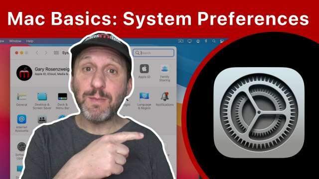 Mac Basics: Using System Preferences