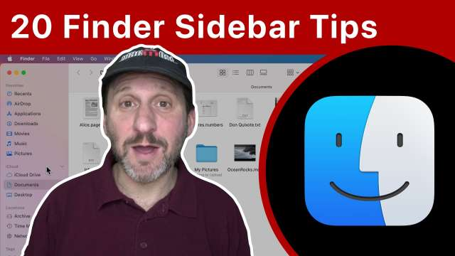 Tips For Getting The Most Out Of the Finder Sidebar