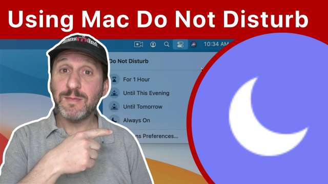 How To Use Do Not Disturb On a Mac