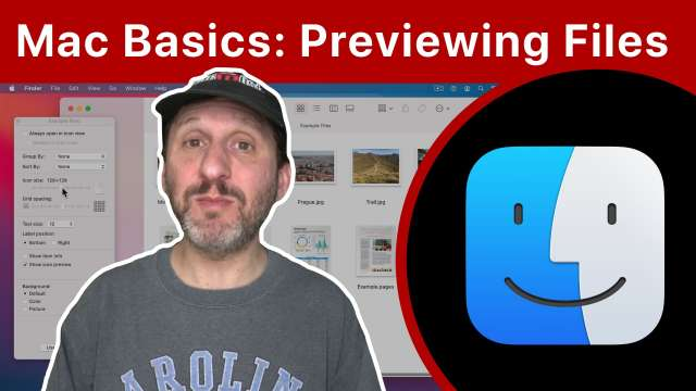 Mac Basics: How To Preview Files