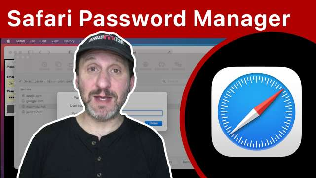 Keep Your Online Accounts Secure Using Safari Passwords
