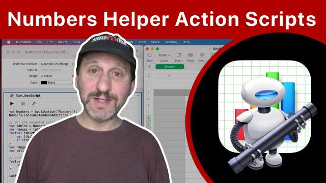 Creating Useful Helper Actions For Mac Numbers