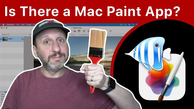 Is There a Paint App On The Mac?