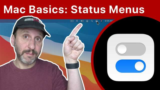Mac Basics: Status Menus