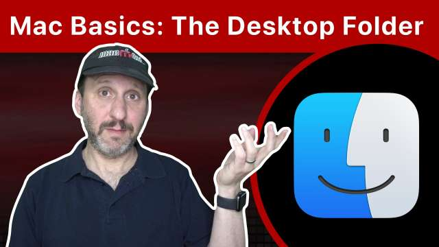 Mac Basics: The Desktop Folder